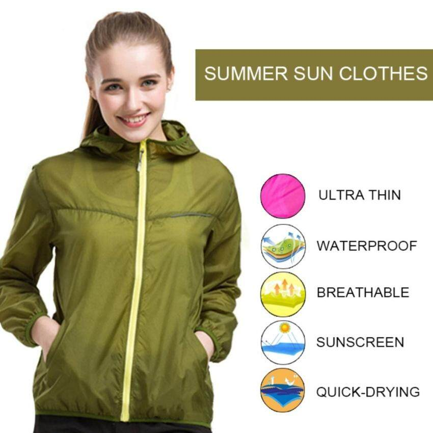 Lightweight Rainwear Ultra-Thin Breathable Quick-Drying Cyclingrunning Windbreaker Jacket