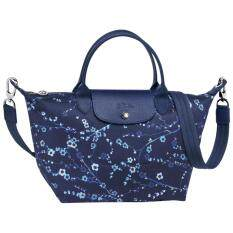 Longchamp Le Pliage NÉo Top Handle Sakura Blue