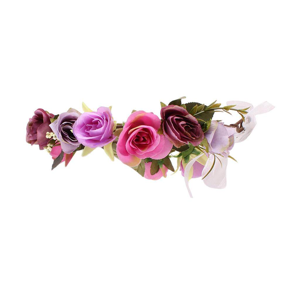 Flower Crown For Girls Purple Price In Singapore
