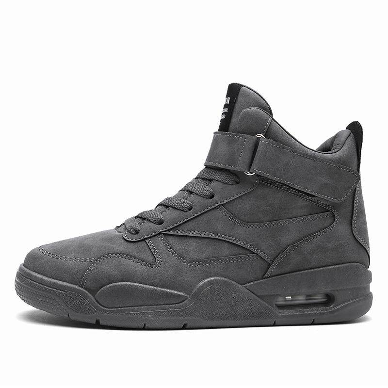Who Sells Man Autumn And Winter 2017 Outdoor Leisure High Cut Mountain Climbing Air Cushion Shoes Field Activities Travel Adventure Rock Climbing Basketball Shoes Camping Military Training Outdoor Sports Jogging Intl The Cheapest