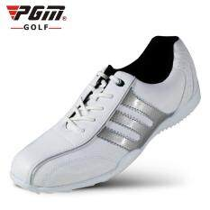 Pria Fashion Sport Sepatu Golf Ukuran 39-44 Warna Putih Silver 8cd4c46a34