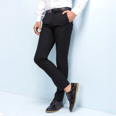 ec3d510b83e6 Manoble 2016 New Men s Suit Pants Twill Casual Business Men Pants Male Slim  Fit Trousers Wrinkle