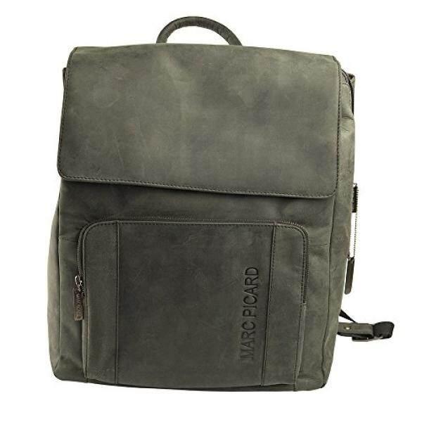 e58ce0bfba2b2 Marc Picard handgearbeitete sehr großer Hunter Lederrucksack Größe XL  Laptop Rucksack bis 15