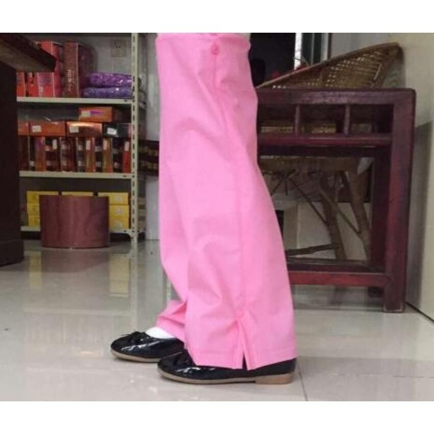 May_zz Girlchild Mahasiswa Kecil Jas Hujan Anak Hujan Bootssetsanti-Hit Basah Kaki Se Childrenpan Se Hujan Pan Setmen (Merah Muda) -Intl