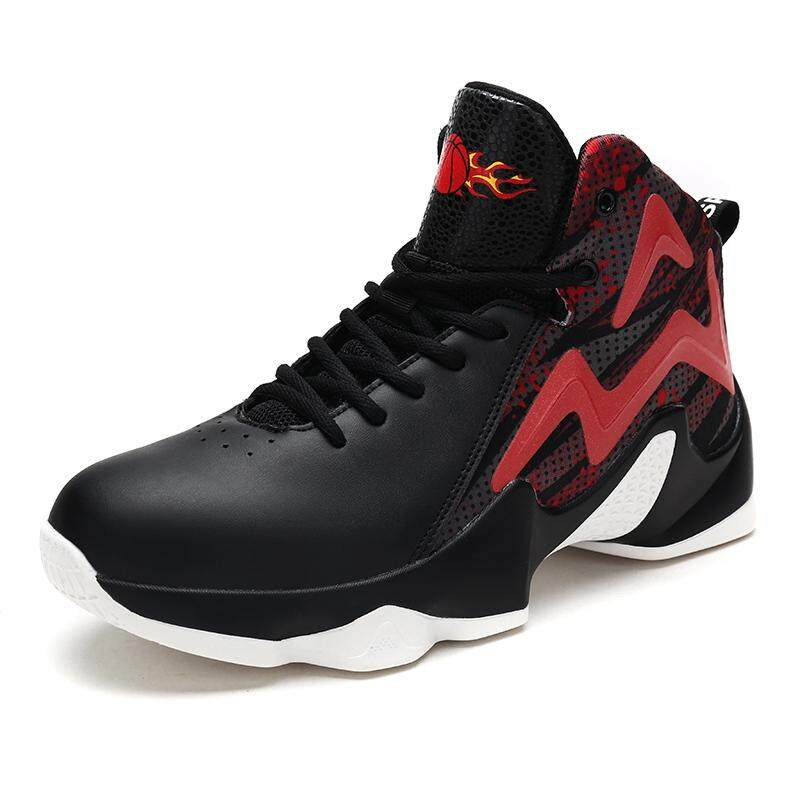 8218865f939f Men Basketball Shoes Breathable Outdoor Sneakers Athletic Training  Cushioning Non-slip Sport Boots Breathable Trainers