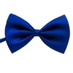 Men Classic Solid Color Bow Tie Fashion Wedding Party Pre-Tied Neckwear Color:royal Blue By Super Star Mall.