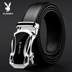 Pria Kulit Asli Sabuk Untuk Pria Dengan Gesper Otomatis Setelan Bisnis/sabuk Jeans 3,5 Cm Lebar 130 Cm Panjang (bisa Potong) By Yison.