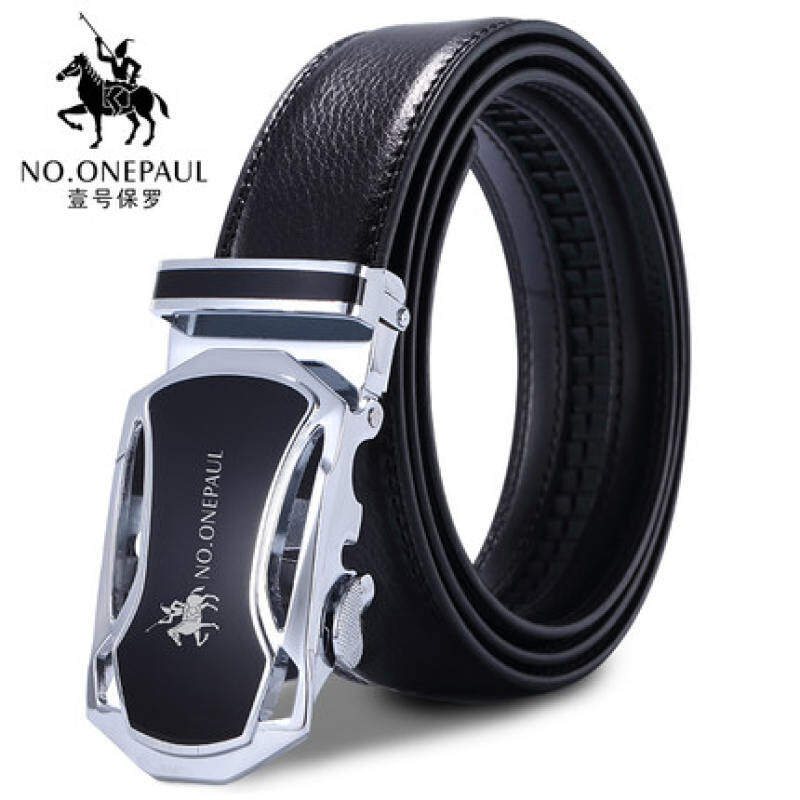MYR 65 Men Genuine Leather Belt for Men with Automatic Buckle .