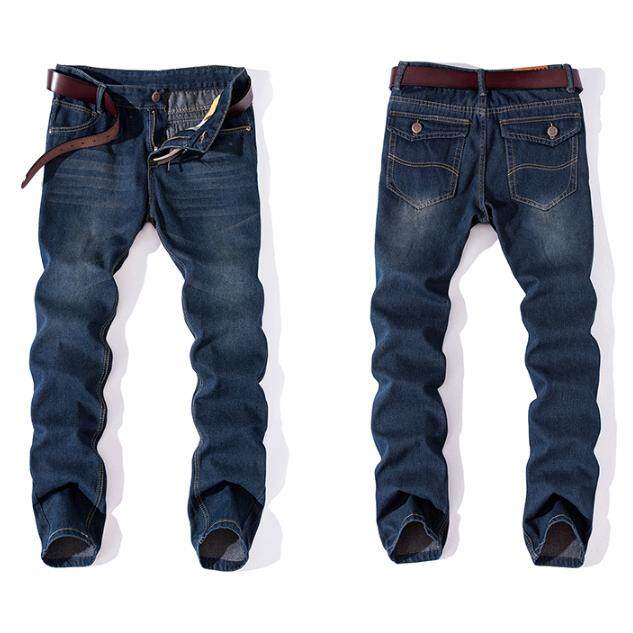 Men Loose Straight Jeans Casual Pants Intl Lower Price