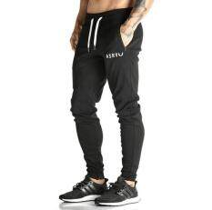Men Pants Slim Fit Sports Gym Mens Jogging Running Trousers Pants By Passionne.
