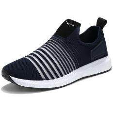d245ab64bba3 Men Running Shoes Sneakers Breathable Mesh Sport Shoes Hollow Man Spring  Summer Deodorant Athletic Shoes -