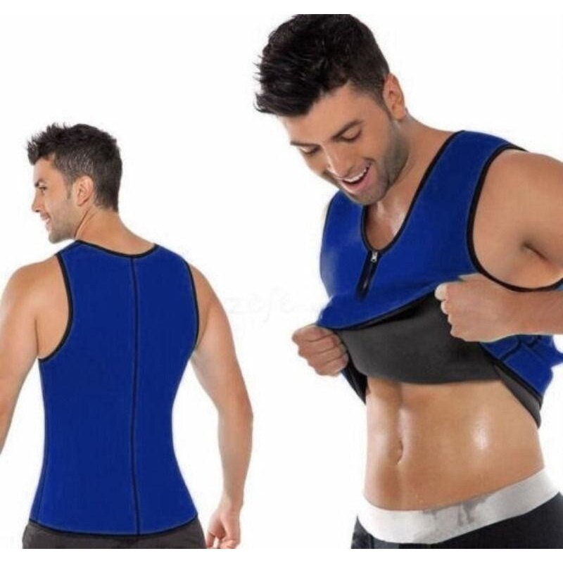 Cocotina Men Ultra Sweat Muscle Trainer Shirt For Weight Loss Fitness Slimming Vest By Health Care Bay.