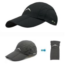 a14b864e690ca2 Men Women Golf Baseball Cap UV Protection Sun block Foldable Breathable Hat  Bucket for Outdoor Sport