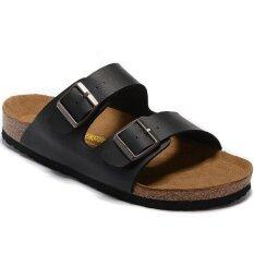 0fd982f3ab4 Men s Authentic Birkenstock Arizona Flat Slippers Size 40-46 (Black)