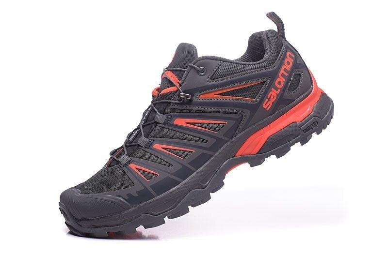 Men  S Otentik Salomon Outdoor XA PRO 3D Sepatu Hiking Alas Kaki Lari  Ukuran 41 8da137ed67