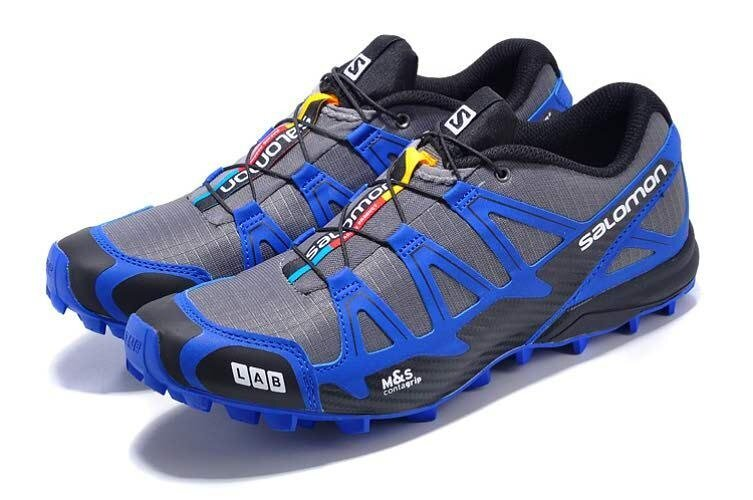 bcbc946906f1 Men s Authentic Salomon S-LAB Fell Cross 2 Shoes Hiking Running Footwear  Size 40-