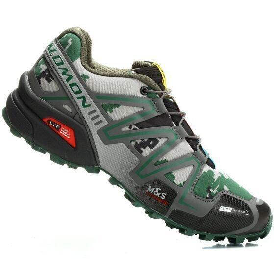 detailed look 45d6d 93c96 Recently Launched Salomon Salomon S-LAB Fellcross 2 Blue Green HI19361 Men s  Authentic Salomon Speed Cross 3 CS Shoes Size 40-46 (Green Camouflage . ...