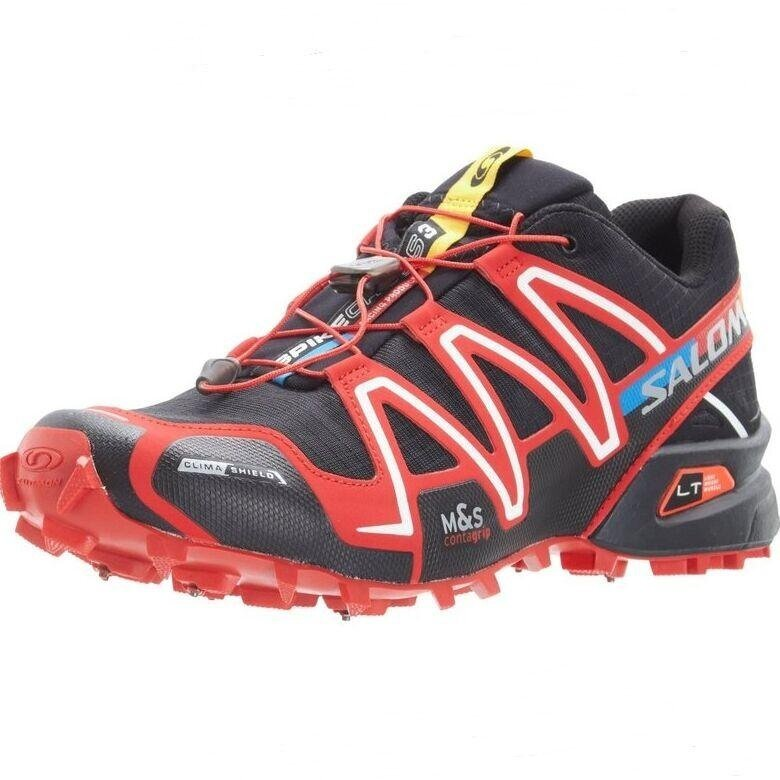 Men s Authentic Salomon Speed Cross 3 CS Shoes Size 40-46 Sneaker (Black  87958319ff