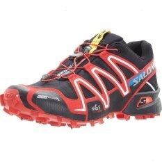 dd3f0694d50e4 Men's Authentic Salomon Speed Cross 3 CS Shoes Size 40-46 Sneaker (Black/