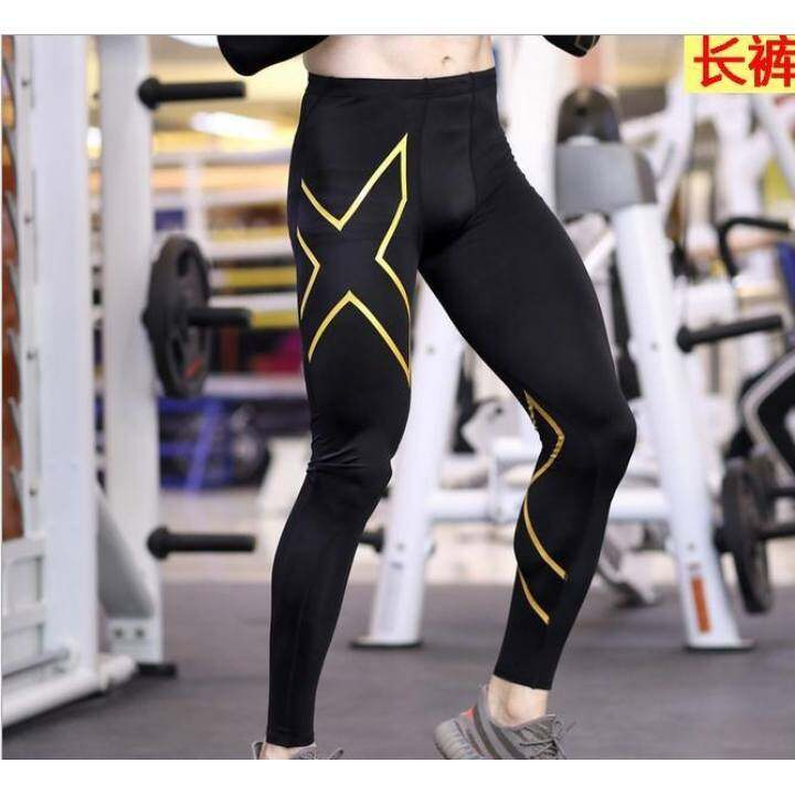 Men's Bike Pants Anti-sweat Breathable Cycling Bike Tights Bicycle Pants Bike Cycling Riding Clothing GEL Padded Trousers Blue Mark