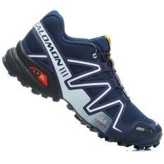 a93273fd9afb2 Men's Salomon Speed Cross 3 CS Men Shoes Hiking and Running Sneakers (Dark  Blue/