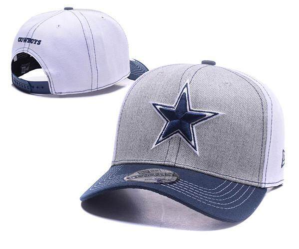 05b5a4b969b Men s Sports Caps Women s Snapback Hats NFL Unisex Dallas Cowboys Cotton  Embroidery Sunscreen