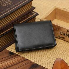 Men's Genuine Leather Wallet Bifold ID Credit Card Holder Mini Purse Money Clip Super Slim