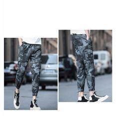 a9001667a2 Mens Jogger Autumn Pencil Harem Pants Men Camouflage Military Pants Loose  Comfortable Cargo Trousers Camo Joggers Dark Blue