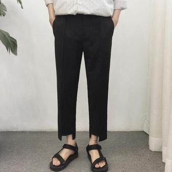 hot sale online 12081 4dcf2 mens-trousers-pants-casual-pants-youth-korean-version-of-trousers-fashion-wild-wild-color-wave-black-4149-72861752-fb4fefc4f8878962bed8b252a122b62a-product.jpg