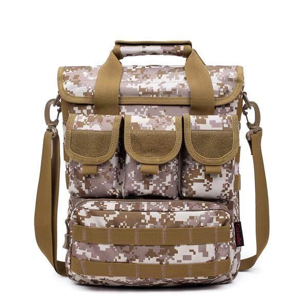 Hình ảnh Military Tactical Shoulder Bag Crossbody Rucksack Outdoor Sport Day Pack Hiking - intl