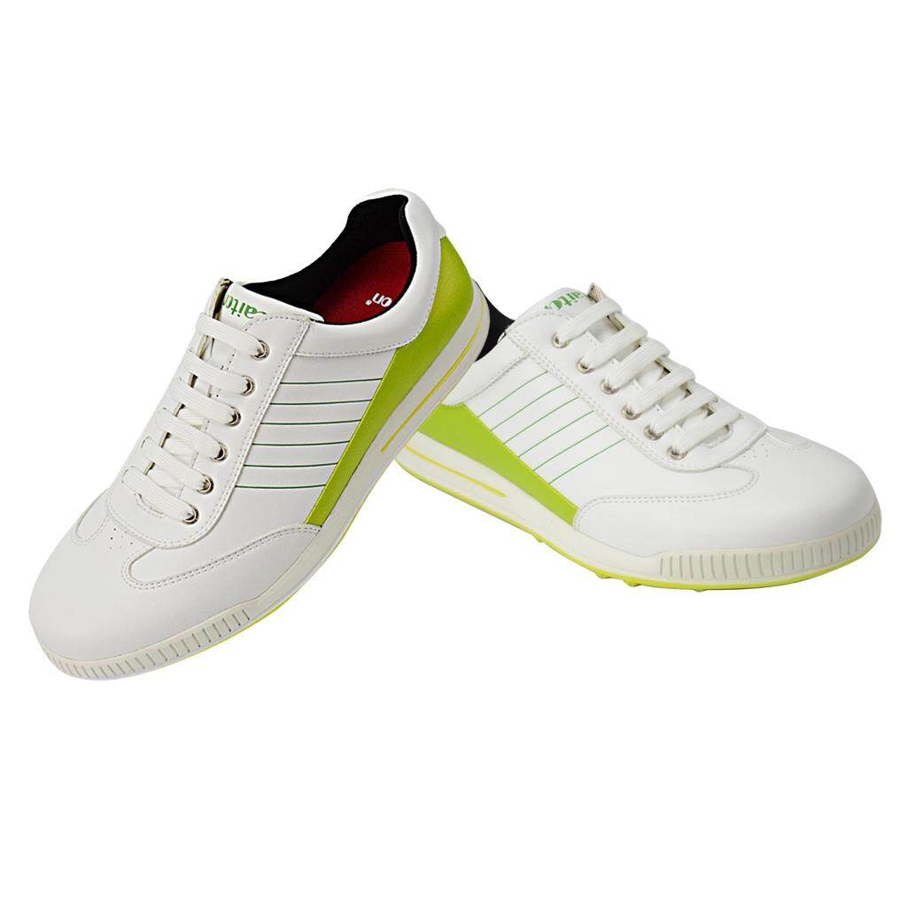 Keajaiban Bersinar Pria Pria Anti-Slip Tahan Air Bernapas Sepatu Golf Sport  Footwears EU39- 4574a6ca8a
