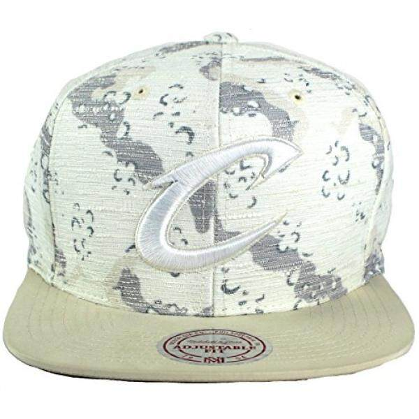20c2605fcbf ... discount mitchell ness nba space camo textured snapback cap one size  cleveland cavaliers 07a15 d8245