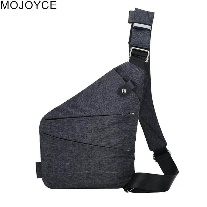 ecdc14394 MOJOYCE Men Anti-Theft Chest Bag Casual Outdoor Riding Pack Messenger Bag
