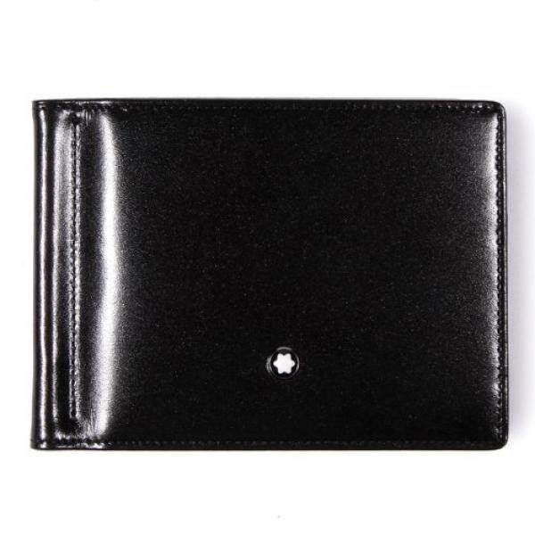 Mont Blanc Meisterstck 6 Credit Wallet with Money Clip - intl