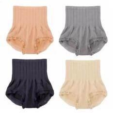 MUNAFIE Japan Set of 4pcs Premium Good Quality High Waist slimming Shaping Panties