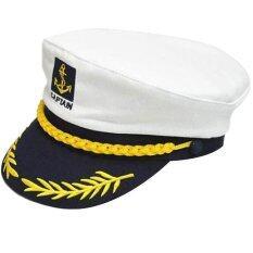 d6ff3c66b1c Navy Cap Performances Captain Romanian Style Seafarers Sailor White