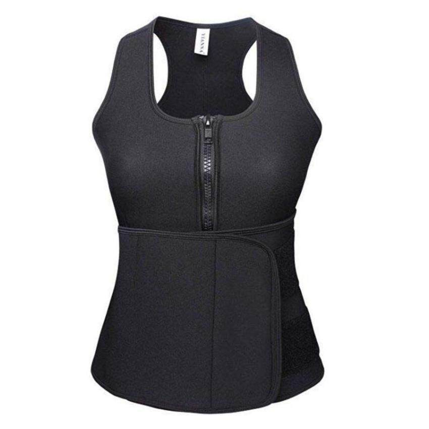 Neoprene Sauna Waist Trainer Vest Sport Bra Summer Workout Shaperwear Slimming Adjustable Sweat Belt Fajas Body Shaper