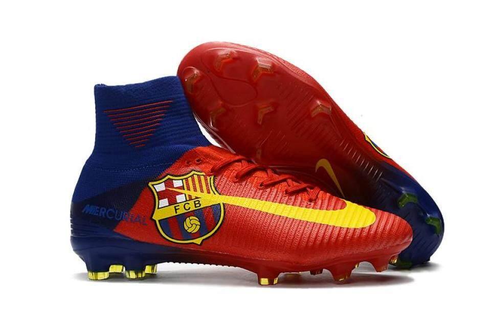 Baru Arrival Sepatu Sepak Bola Pria Superfly Sepak Bola Sepatu Tinggi  Pergelangan Kaki Berlian FG Asli 80b2bbb726