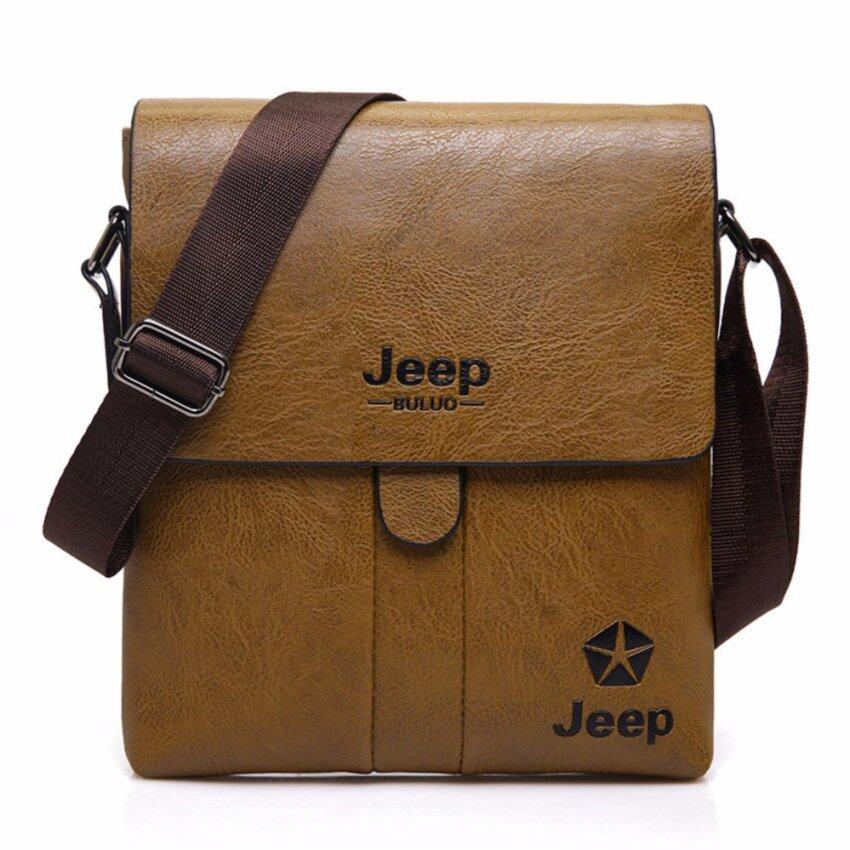 39fc05e97e JoyFun New Arrival Jeep Buluo Bag Genuine Leather Bag Men Crossbody Bag  Messenger Bag Sling Bag