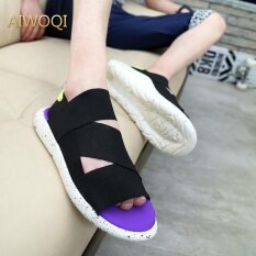 New Arrival Summer Sandals Outdoor Men Slippers Open-Toed Sandals Men Sandals Aiwoqi By Youngsun.
