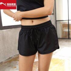 ae1c7ec08 Baru Olahraga Atletik Celana Pendek Fitness Celana Kasual Wanita Pakaian  Jogging Cepat Kering Pakaian Lari Yoga