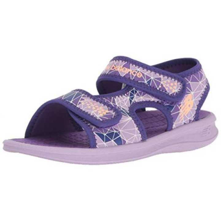 New Balance Girls Kids Sport Sandal Water Shoe, intl Purple, US Toddler - intl Shoe, b6d0a0