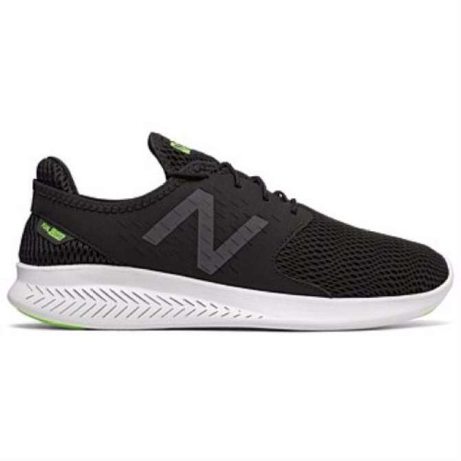New Balance MCOASBK3 Men's Performance Running Shoes (Black/White)