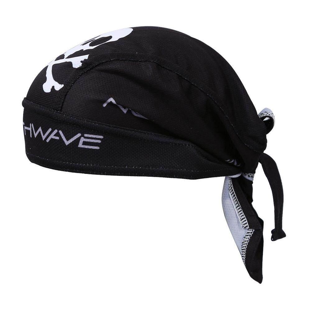 ใหม่ขี่จักรยานสีดำจักรยานจักรยานกีฬากลางแจ้งผ้าพันคอโจรสลัดหมวกแก๊ป - Intl - Intl By Greatbuy666.