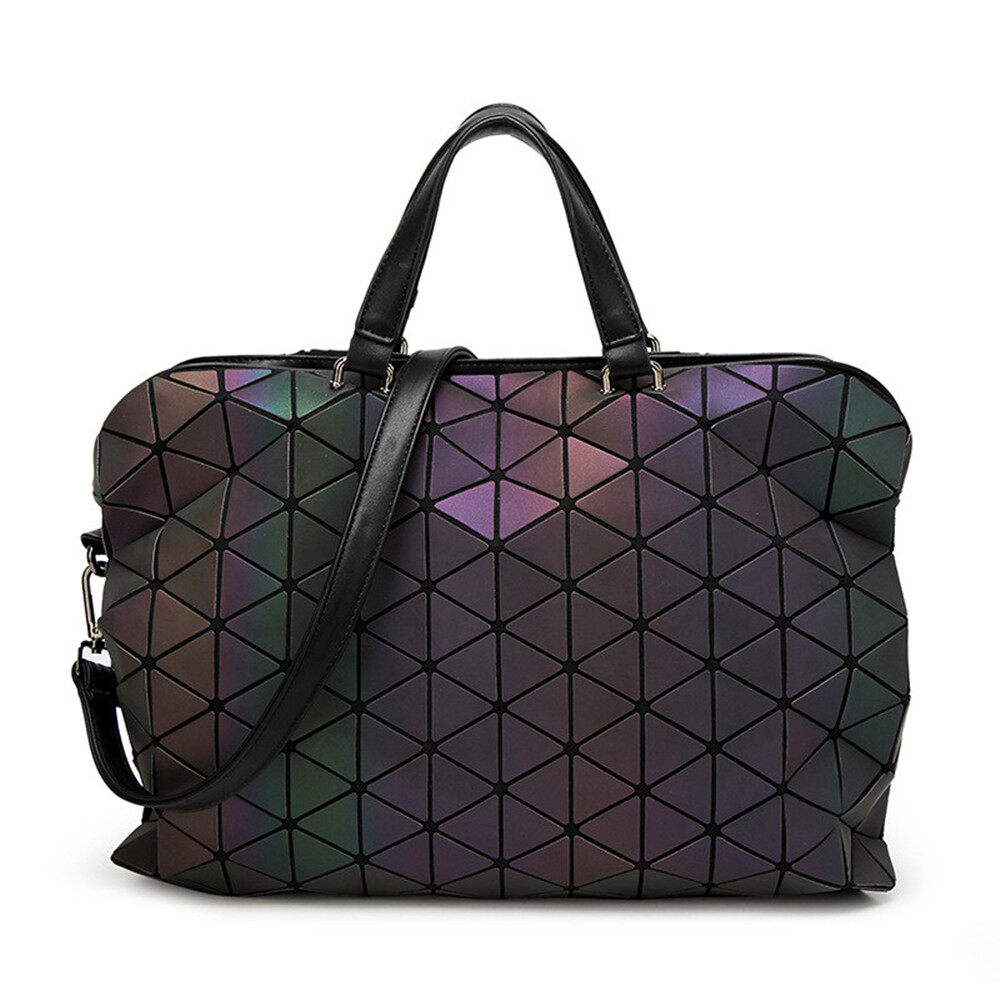 Buy Cheap New Brand Luminous Women Bao Bao Bag High End Geometric Handbags Plaid Shoulder Diamond Lattice Baobao Ladies Messenger Bags Intl