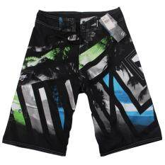 New Fashion Mens Board Shorts Beach Wear Surf Surfing Swim Wear Swimming Short Pants Lace-Up Trunk (black,size:s,m,l,xl,xxl) By Mh Mall.