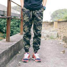 New Fashion Multi-pocket camouflage Cargo Pants Casual Soldier Trouser  Running Jogger Sweatpants Loose 99aee46103aa