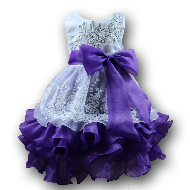bf421c7d8977 New High Quality Baby Lace Princess Dress for Girl Elegant Birthday Party  Dress Girl Dress Baby