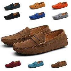 699e4fd65f32d1 New Men's Driving shoes Loafers Big Size 38-49 Suede Leather Moccasins Slip  on comfortable