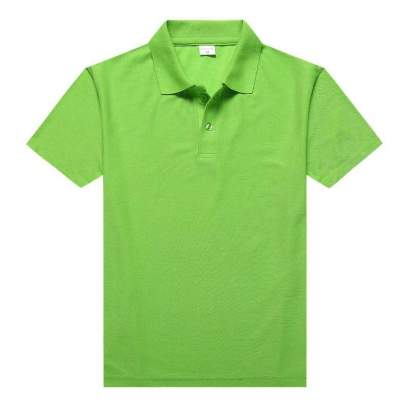 New Summer Men's Short Sleeve T-shirt Youth Cotton Polo Shirt Short-sleeved Men's Lapel Casual Men's Jacket - intl